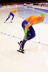 13-01-2013 SCHAATSEN: EK ALLROUND: HEERENVEEN<br /> NED, Speedskating EC Allround Thialf Heerenveen / 5000 women - Sven Kramer<br /> ©2013-FotoHoogendoorn.nl