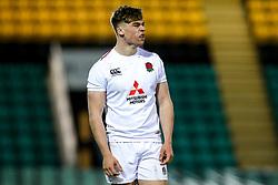 Ollie Hassell-Collins of England U20 - Mandatory by-line: Robbie Stephenson/JMP - 15/03/2019 - RUGBY - Franklin's Gardens - Northampton, England - England U20 v Scotland U20 - Six Nations U20