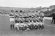 08.08.1971 Football All Ireland Junior Semi Final Mayo Vs Tyrone.Mayo Team  All Ireland Minor Football Semi-Final. Meath v Tyrone. Croke Park, Dublin, 1972