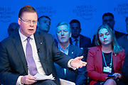Iain Conn, Group Chief Executive, Centrica, United Kingdom, speaking in the Stakeholder dialogue; Shaping the Future of Energy and Materials session at the World Economic Forum Annual Meeting 2020 in Davos-Klosters, Switzerland, 22 January. Congress Centre - Aspen 1 Room. Copyright by World Economic Forum/ Greg Beadle