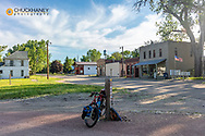 Riding the Cowboy Trail in Wood Lake, Nebraska, USA