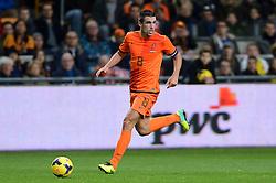 19-11-2013 VOETBAL: NEDERLAND - COLOMBIA: AMSTERDAM<br /> Nederland speelt met 0-0 gelijk tegen Colombia / Kevin Strootman<br /> ©2013-FotoHoogendoorn.nl