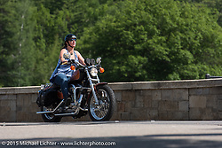 Laconia Motorcycle Week. Laconia, NH, USA. June 14, 2015.  Photography ©2015 Michael Lichter.