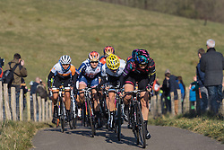 Tiffany Cromwell on the charge for the final time up VAMberg  - Drentse 8, a 140km road race starting and finishing in Dwingeloo, on March 13, 2016 in Drenthe, Netherlands.