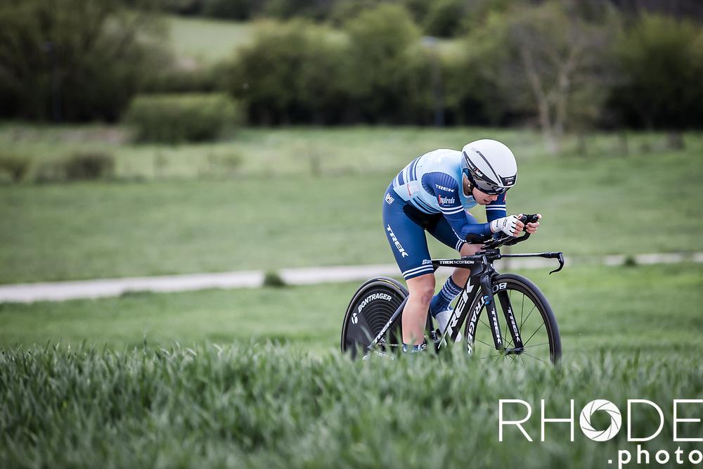 Shirin Van Anrooij (NED/Trek Segafredo)<br /> <br /> Ceratizit Festival Elsy Jacobs (LUX) 2021<br /> UCI Women Elite 2.1<br /> Day 1 - prologue : Individual Time Trial (ITT) – Cessange (LUX) 2.2km <br /> <br /> ©RhodePhoto