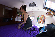 Caravan, the Tiny House Hotel, Portland, OR, USA also rents small campers called Teardrop Trailers