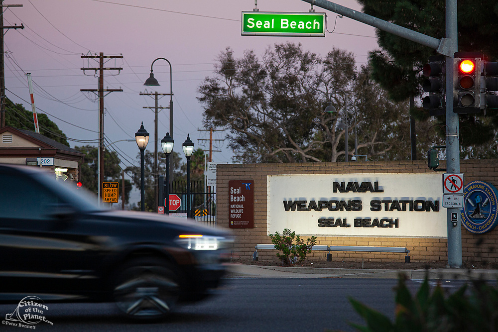 Naval Weapons Station, Seal Beach, Orange County, California, USA