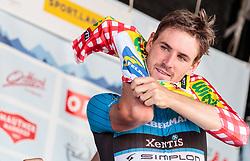 04.07.2017, Pöggstall, AUT, Ö-Tour, Österreich Radrundfahrt 2017, 2. Etappe von Wien nach Pöggstall (199,6km), Siegerehrung, im Bild Stephan Rabitsch (AUT, Team Felbermayr Simplon Wels) // on podium during the 2nd stage from Vienna to Pöggstall (199,6km) of 2017 Tour of Austria. Pöggstall, Austria on 2017/07/04. EXPA Pictures © 2017, PhotoCredit: EXPA/ JFK