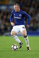 Football - 2017 / 2018 Europa League - Third Qualifying Round, First Leg: Everton vs. MFK Ruzomberok<br /> <br />  Wayne Rooney of Everton at Goodison Park.<br /> <br /> COLORSPORT/LYNNE CAMERON