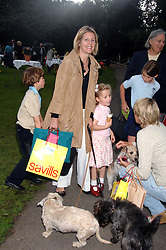 VISCOUNTESS LINLEY and her daughter the HON.MARGARITA ARMSTRONG-JONES at Macmillan Dog Day in aid of Macmillan Cancer Support, held at Royal Hospital Chelsea, London on 3rd July 2007.<br />