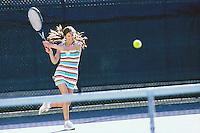 Young woman playing tennis&#xA;<br />