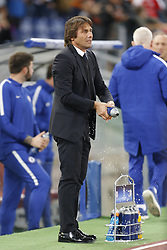 October 31, 2017 - Rome, Italy - Rome, Italy - 31/10/2017..Coach Antonio Conte of Chelsea during their UEFA Champions League Group C soccer match against Roma at the Olympic stadium in Rome..UEFA Champions League Group C soccer match between AS Roma and Chelsea FC at the Olympic stadium in Rome. AS Roma defeating Chelsea FC 3-0. (Credit Image: © Giampiero Sposito/Pacific Press via ZUMA Wire)