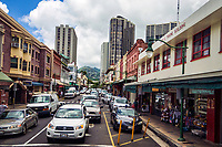Maunakea Street, Downtown Honolulu