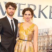 NLD/Amsterdam/20151130 - Film Premiere Publieke Werken, Anna Drijver en partner Benja Bruijning