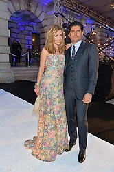 KATHERINE JENKINS and ANDREW LEVITAS at the Royal Academy of Arts Summer Exhibition Preview Party at The Royal Academy of Arts, Burlington House, Piccadilly, London on 7th June 2016.