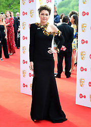 Emma Willis attending the Virgin TV British Academy Television Awards 2018 held at the Royal Festival Hall, Southbank Centre, London.