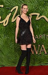 December 5, 2017 - London, England, United Kingdom - 12/4/17.Eva Herzigova at The Fashion Awards 2017 in London, England. (Credit Image: © Starmax/Newscom via ZUMA Press)