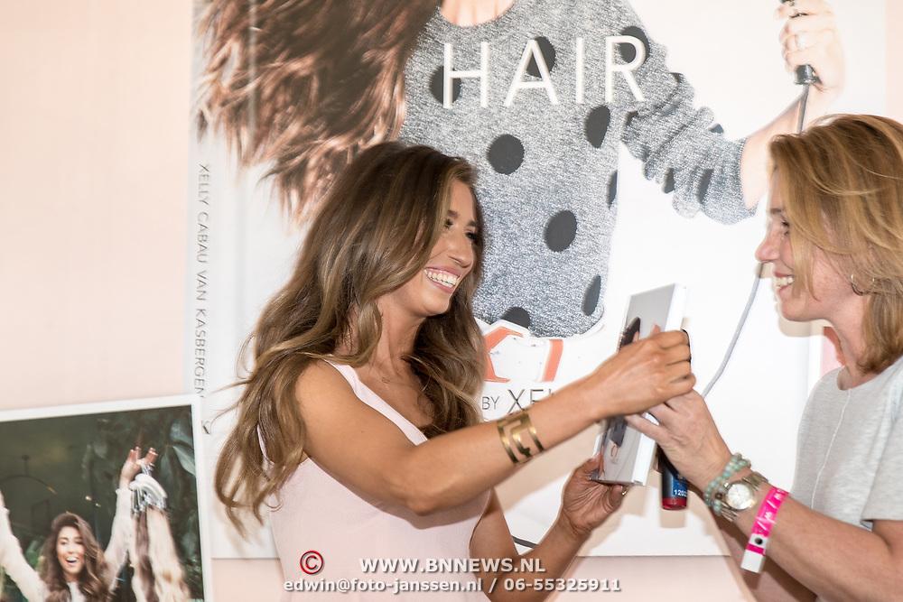 NLD/Amsterdam/20170522 - Boekpresentatie Hair By Xelly Cabau van Kasbergen