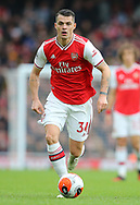 Arsenal's Granit Xhaka during the Premier League match at the Emirates Stadium, London. Picture date: 7th March 2020. Picture credit should read: Paul Terry/Sportimage