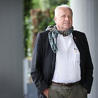 Nederland, Amsterdam , 9 mei 2014.<br /> De Braziliaanse sloppenwerker Nanko van Buuren.<br /> <br /> Foto:Jean-Pierre Jans