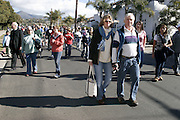 January 21, 2008 - Santa Barbara, CA: Martin Luther King Day Pre -march Rally, March and Celebration and Post-Rally Reception.? 9 a.m. Pre-March Rally at Santa Barbara High School.700 E. Anapamu Street. The ideals of Dr. King was expressed in circles of Peace, Equality, Spirituality and Love.? 10 a.m. March in Unity .We remembered the marches that Dr. King lead. Participants began the march at Santa Barbara High School and walked down Milpas Street to Santa Barbara Jr. High School..? 11 a.m. Celebration at the Marjorie Luke Theatre.721 E. Cota Street.  The community came to enjoy the music, children?s essay competition winners, speakers and celebrations. .- Post-Rally Reception at the First United Methodist Church, 305 East Anapamu Street.  Fellowship, conversation and refreshments..(Photo by Rod Rolle)
