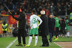 December 26, 2018 - Rome, Italy - Federico Di Francesco  of Sassuolo during the Italian Serie A football match between A.S. Roma and Sassuolo at the Olympic Stadium in Rome, on december 26, 2018. (Credit Image: © Federica Roselli/NurPhoto via ZUMA Press)