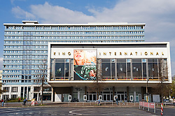 Famous former East German Kino International cinema on Karl Marx Allee in Berlin Germany 2008