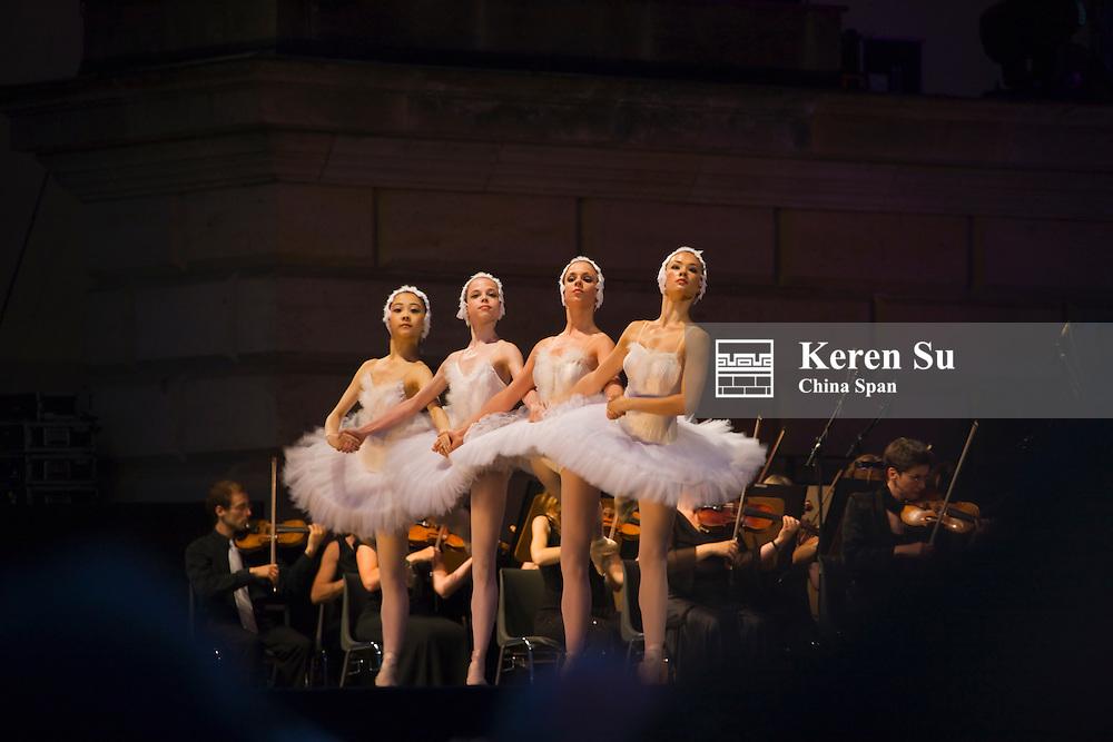 Ballet performance at Berlin Opera House, Berlin, Germany