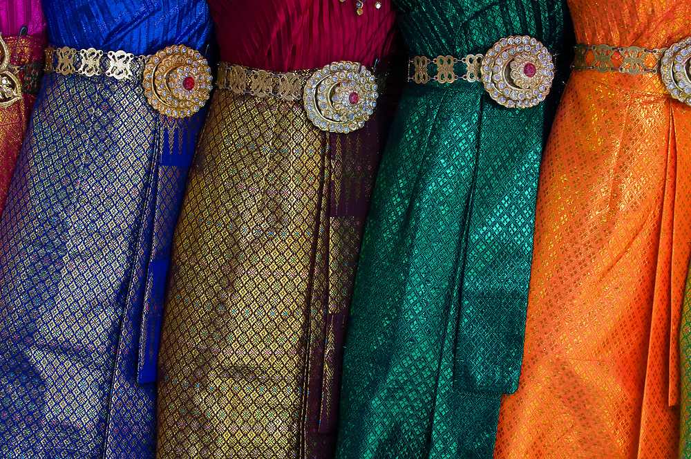 Thai women's clothing, Bangkok, Thailand