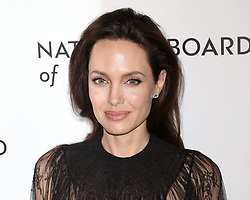Angelina Jolie attends the National Board of Review Gala at Cipriani in New York.
