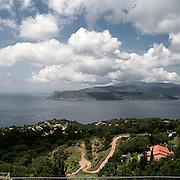 Il Mar Tirreno visto da Capoliveri..Tyrrhenian Sea viewed from Capoliveri.
