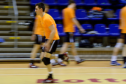 25-04-2013 VOLLEYBAL: TRAINING NEDERLANDS MANNEN VOLLEYBALTEAM: ROTTERDAM<br /> Selectie Oranje mannen seizoen 2013-2014 / Nico Freriks<br /> ©2013-FotoHoogendoorn.nl