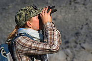 Colinda Vergeer, wildlife watching in the Central Apennines rewilding area, Italy, in and around the Abruzzo, Lazio e Molise National Park.