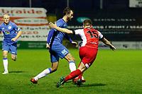 Adam Thomas. Stockport County FC 1-0 Kidderminster Harriers FC. Vanarama National League North. 29.12.18.