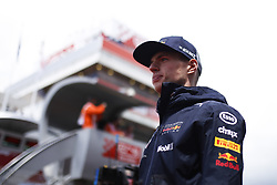 May 13, 2018 - Barcelona, Catalonia, Spain - May 13th, 2018 - Circuit de Barcelona-Catalunya, Montmelo, Spain - Race of Formula One Spanish GP 2018;Max Verstappen of RedBull Racing during the drivers parade. (Credit Image: © Eric Alonso via ZUMA Wire)