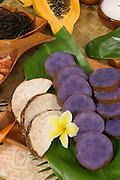 Taro, Hawaiian luau, Hawaii<br />