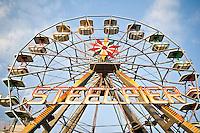 Ferris Wheel on Steel Pier Atlantic City, New Jersey.