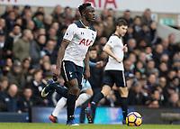 Football - 2016 / 2017 Premier League - Tottenham Hotspur vs. Stoke City<br /> <br /> Victor Wanyama of Tottenham at White Hart Lane.<br /> <br /> COLORSPORT/DANIEL BEARHAM