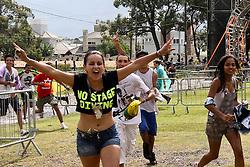 Abertura do Planeta Atlântida 2013/RS, que acontece nos dias 15 e 16 de fevereiro na SABA, em Atlântida. FOTO: Marcos Nagelstein/Preview.com
