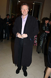 Impressionist RORY BREMNER at a the Orion Publishing Group Author Party and a private view of the 'Turner Whistler Monet' exhibition at Tate Britain, Atterbury Street, London SW1 on 23rd February 2005.<br /><br />NON EXCLUSIVE - WORLD RIGHTS