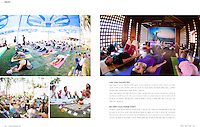 YOGA JOURNAL KOREA - March 2015<br /> Heeki Park's article about the India Yoga Festival
