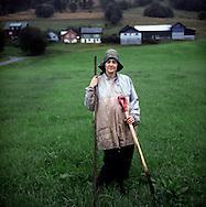 farmer Randi Myklebust.27 aug