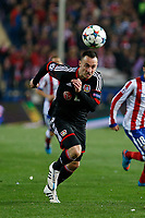 Bayer 04 Leverkusen´s Drmic during the UEFA Champions League round of 16 second leg match between Atletico de Madrid and Bayer 04 Leverkusen at Vicente Calderon stadium in Madrid, Spain. March 17, 2015. (ALTERPHOTOS/Victor Blanco)