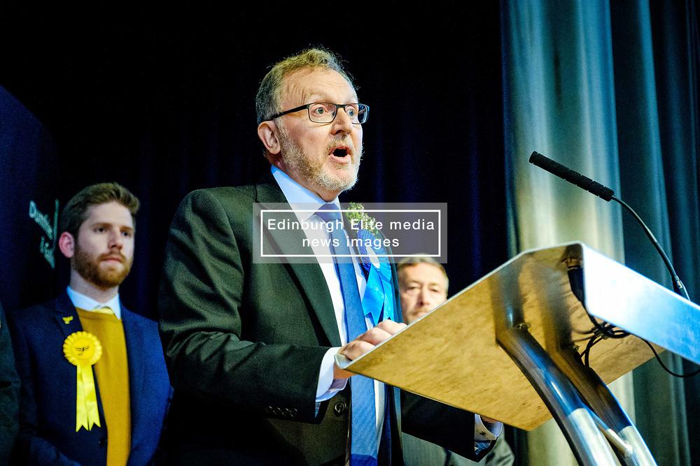 General Election 2017 Dumfries Count :: David Mundell, Conservative at the count<br /> <br /> (c) Andrew Wilson   Edinburgh Elite media