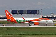 G-EZPD easyJet (Europcar) Airbus A320-214(WL) at Malpensa (MXP / LIMC), Milan, Italy