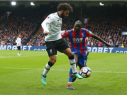 March 31, 2018 - London, Greater London, United Kingdom - Liverpool's Mohamed Salah .during the Premiership League  match between Crystal Palace and Liverpool at Wembley, London, England on 31 March 2018. (Credit Image: © Kieran Galvin/NurPhoto via ZUMA Press)