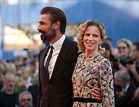 Sonia Bergamasco and Fabrizio Gifuni at the premiere of the film The Young Pope at the 73rd Venice Film Festival, Sala Grande on Saturday September 3rd 2016, Venice Lido, Italy.
