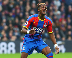 December 30, 2018 - London, England, United Kingdom - London, England - 30 December, 2018.Crystal Palace's Wilfried Zaha.during Premier League between Crystal Palace and Chelsea at Selhurst Park stadium , London, England on 30 Dec 2018. (Credit Image: © Action Foto Sport/NurPhoto via ZUMA Press)