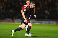 Lynden Gooch of Sunderland (11) dribbles forward with the ball during the EFL Sky Bet League 1 match between Doncaster Rovers and Sunderland at the Keepmoat Stadium, Doncaster, England on 23 October 2018.