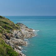 Rocky hills of Promthep Cape on Phuket, Thailand